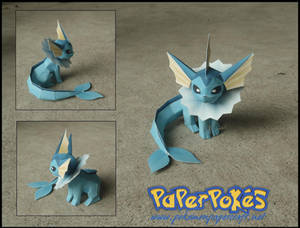 Mini Vaporeon Papercraft