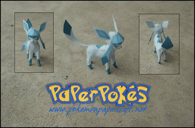 Mini Glaceon Papercraft