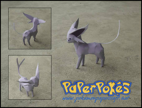 Mini Espeon Papercraft