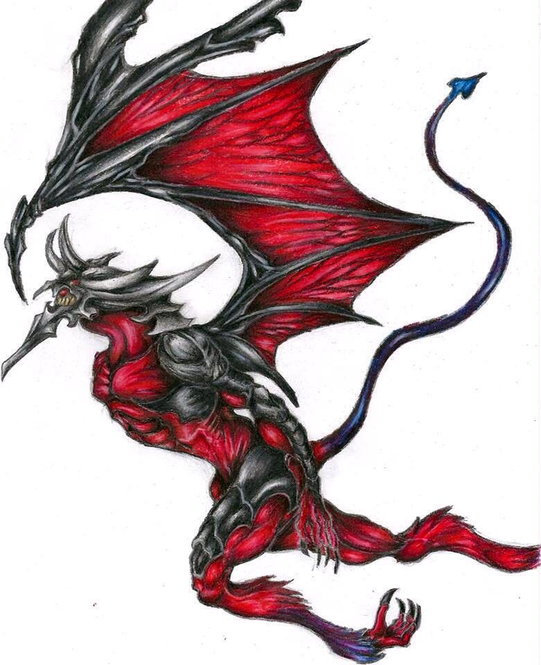 Diablos FFVIII G.F. by goodsnake