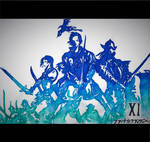 Final Fantasy XI Logo by goodsnake