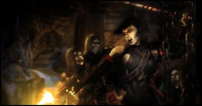 Ninja Zombie by vaga69