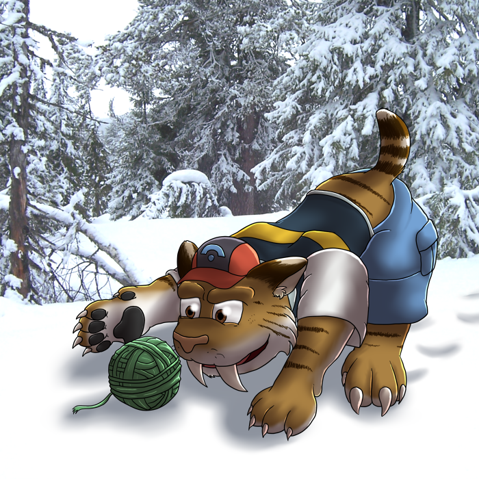 Ash Tf into a Sabertooth Tiger by Nightfirer