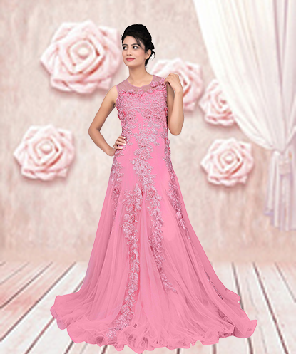 Bridal Party Wear Designer Gowns Online Shopping by indiswagmart on ...
