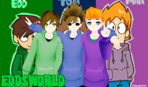 MMD-EddsWorld by Elby-Yoselin
