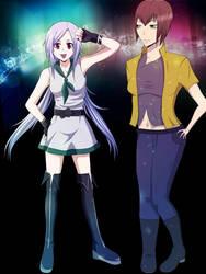 Lacie and Mina by ArisaSenri
