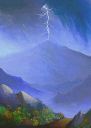 Approaching Storm (second version) by ginnunga-gap