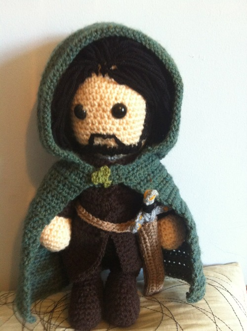 Amigurumi Magische Ring : Aragorn Lord of the Rings Amigurumi Crochet by Just-Add ...