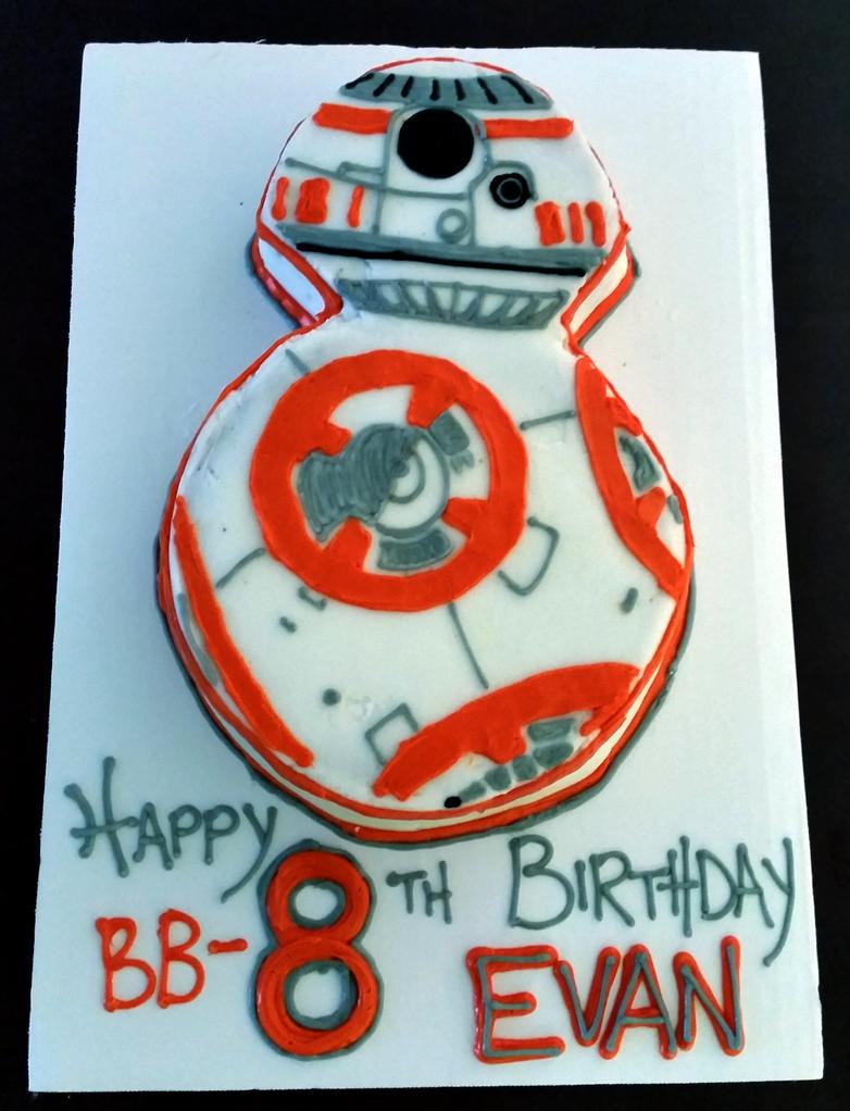 Bb 8th Birthday Cake By Ummeiko On Deviantart