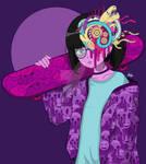 Vaporboard (Color) by MunchbudInk