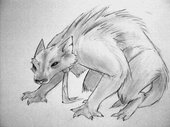 accountant werewolf by juenavei