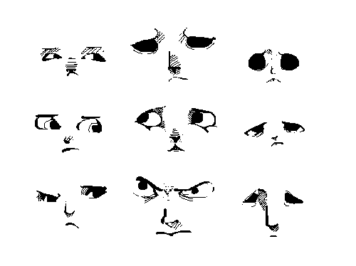 Faces by juenavei