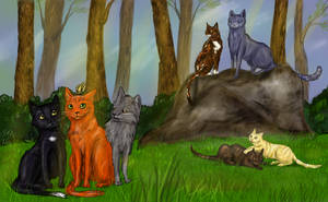 Warrior Cats - Into the wild by mijux3