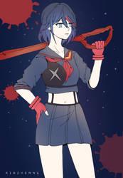 Ryuko Matoi (Kill la Kill) Fanart by xiazhenng