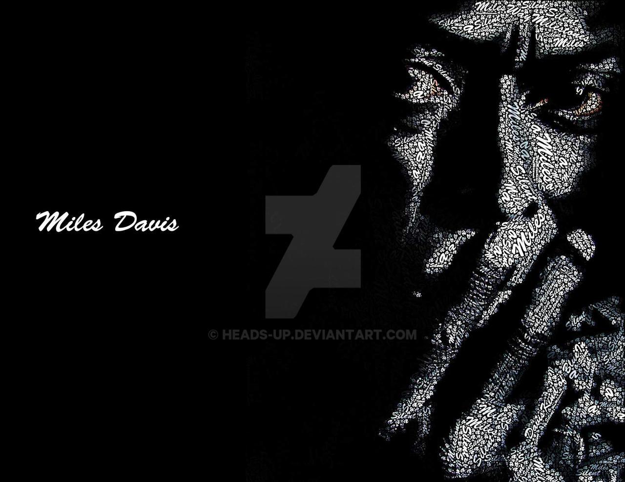 Miles Davis Typo by heads-up