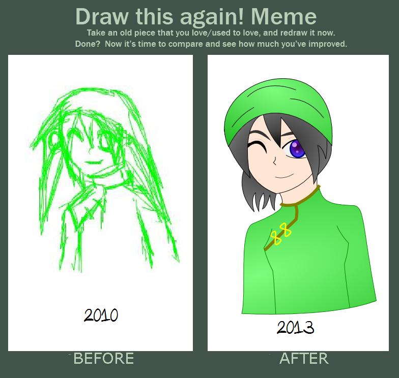 draw this again meme template - draw this again meme by blinkyiris on deviantart