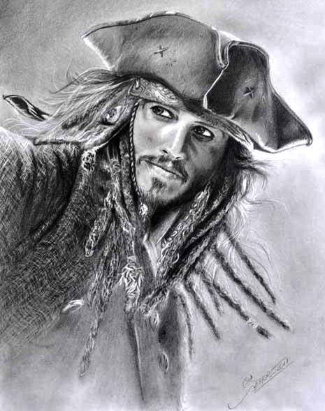 Jack Sparrow by sandrocosta