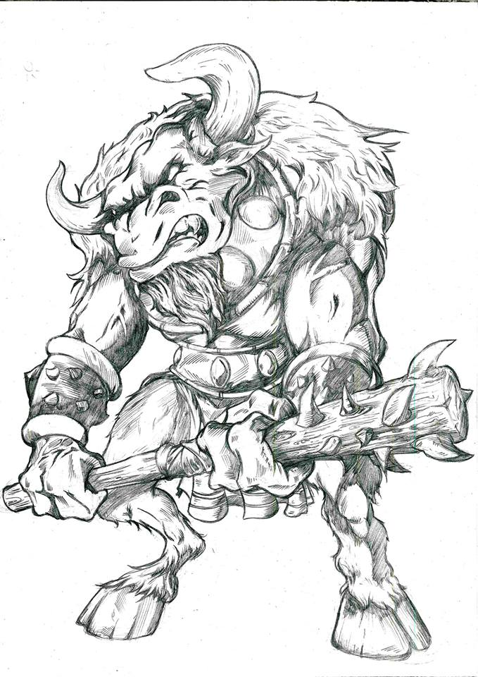 Minotauro by sandrocosta