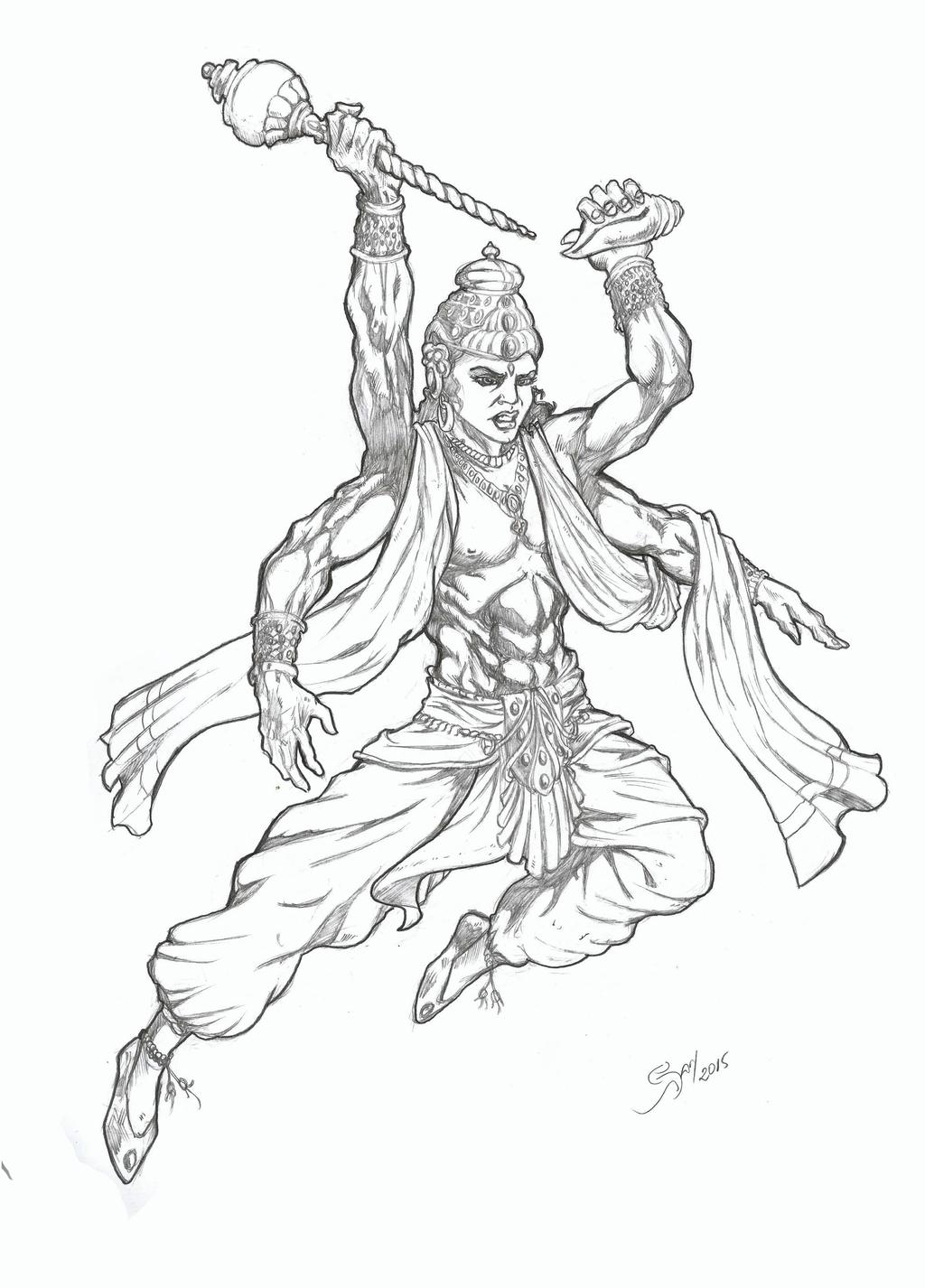 lord vishnu coloring pages - photo#20