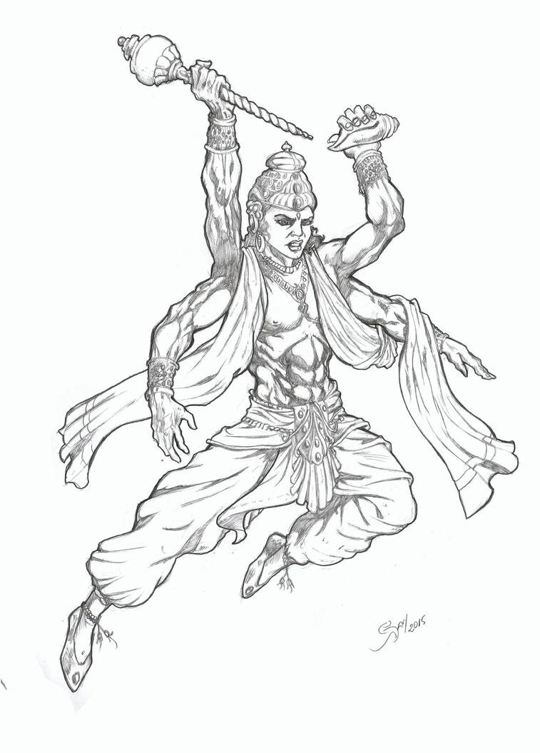Vishnu by sandrocosta