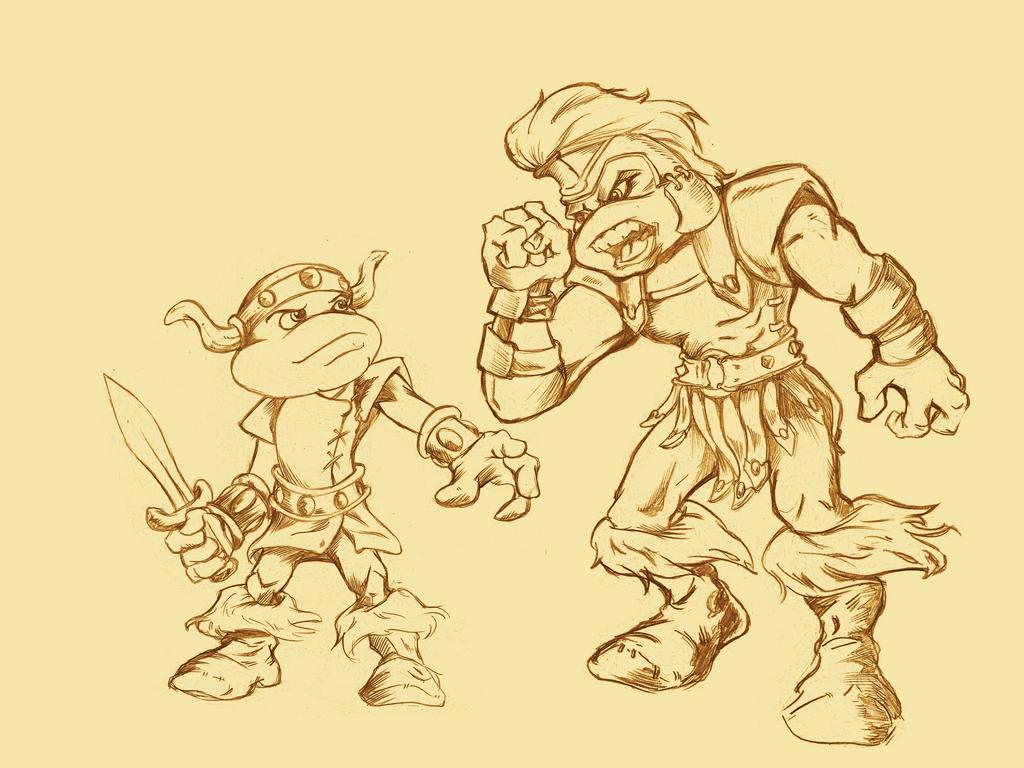O Pequeno Julian e o Capitao Deodato by sandrocosta