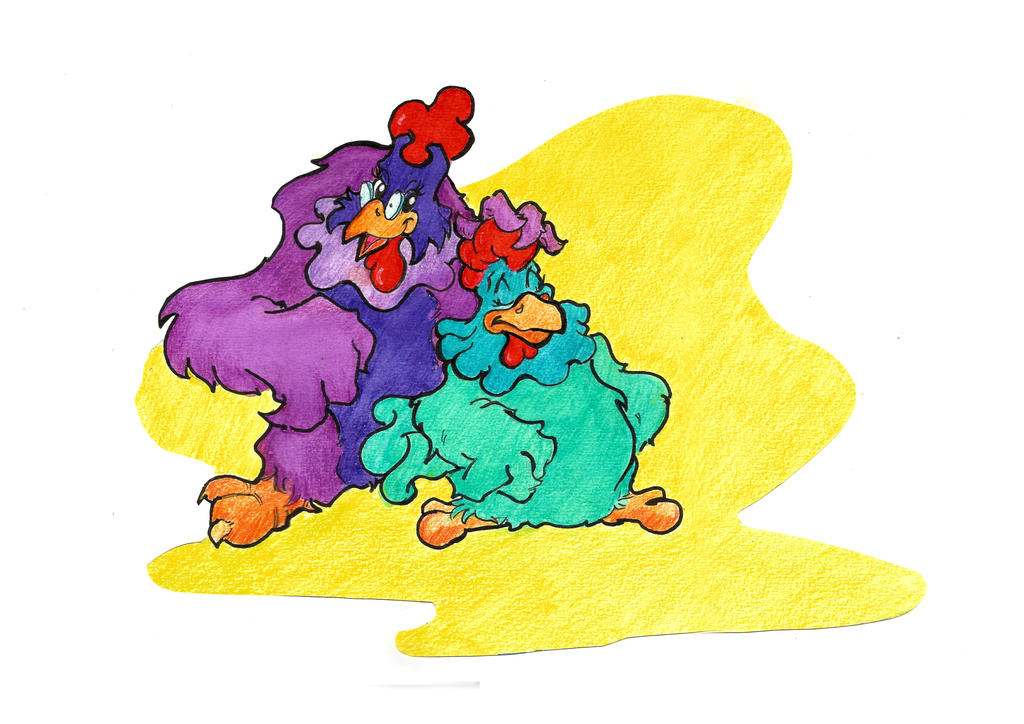 galinhas4 by sandrocosta