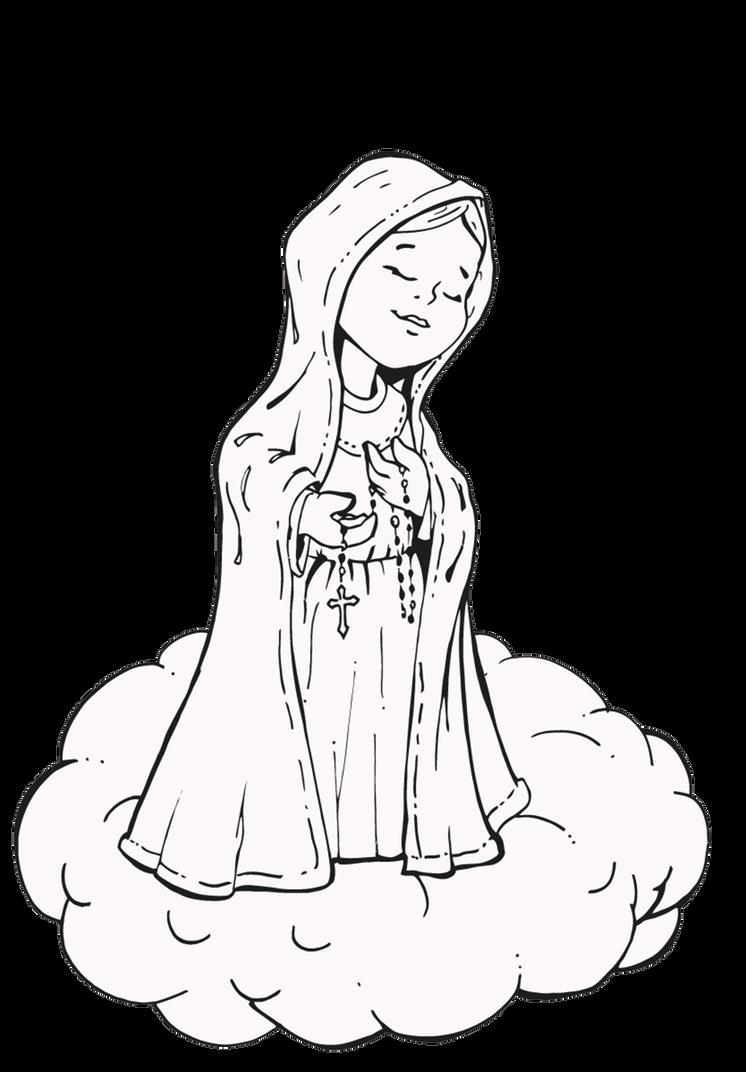 Nossa Senhora de Fatima by sandrocosta