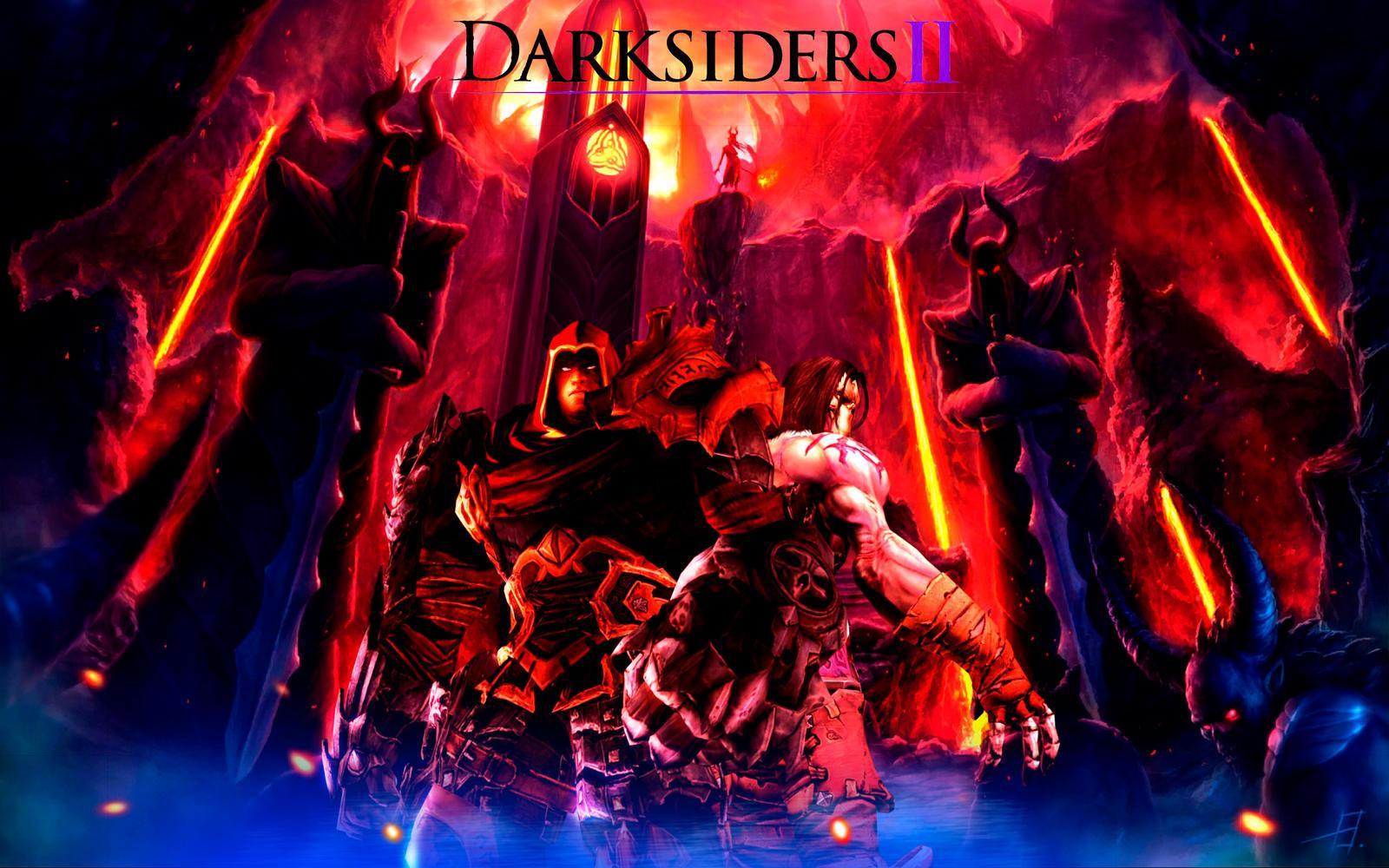 Darksiders War Wallpaper By: Darksiders 2 Wallpaper By DevilKazz On DeviantArt