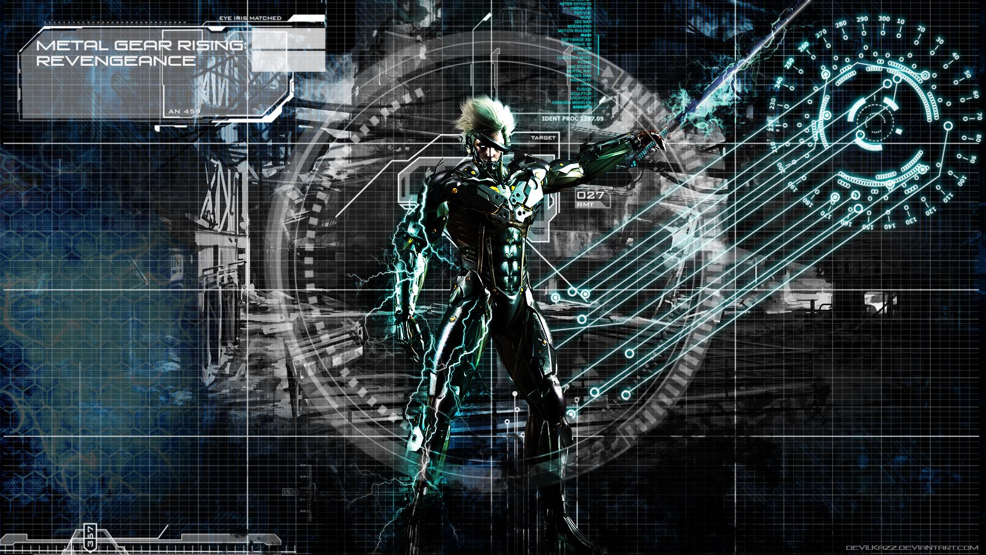metal gear rising: revengeancedevilkazz on deviantart