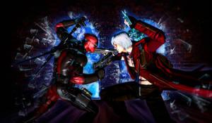 Deadpool vs Dante - Marvel vs Capcom 3