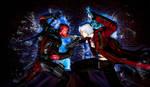 Deadpool vs Dante - Marvel vs Capcom 3 by DevilKazz