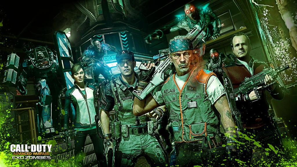 Advanced Warfare Exo Zombies Wallpaper By Devilkazz On Deviantart