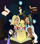 Comm. Magic book. by MrChillie