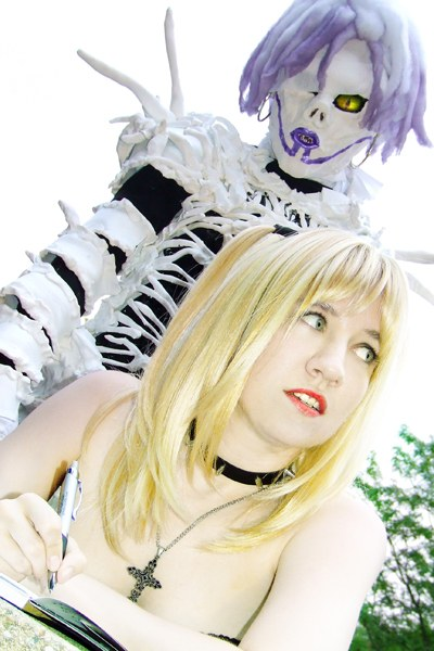 death note misa and rem - photo #16