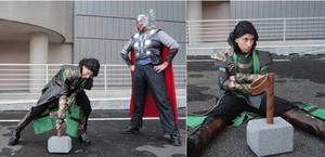 Avengers:  Loki gives up
