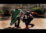 The Avengers: Cap vs Loki