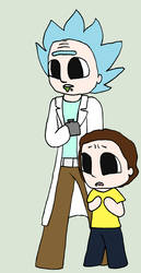 Rick and Morty by AmazingAceArmy