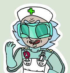 Surgeon Rick - Pocket Mortys by AmazingAceArmy
