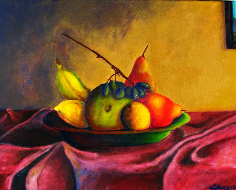 Fruit Painting by GreenLilly777 on DeviantArt