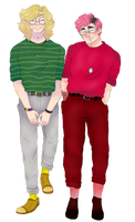 Boyfriends by RatKnife