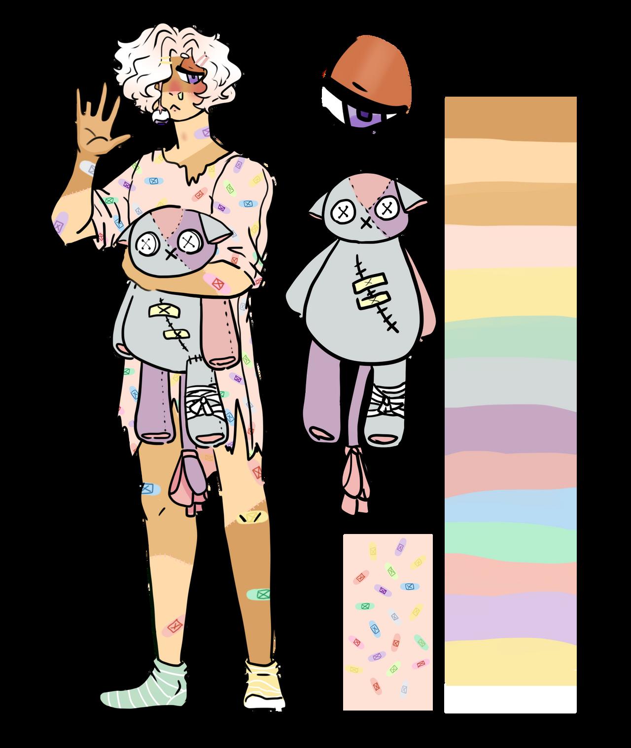 Sick boy (design trade) by RatKnife