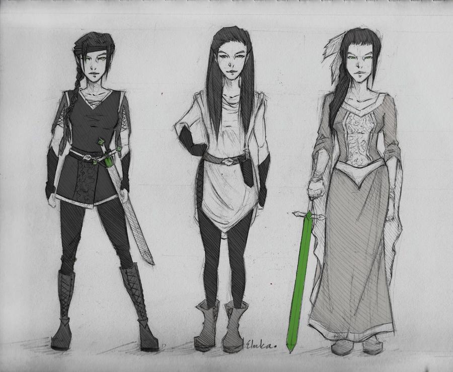 Inheritance: Arya by icyreiatsu