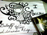 I dream of butterfly wings