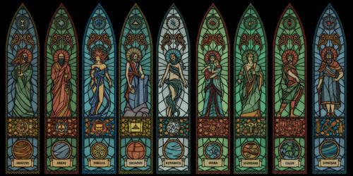 The Elder Scrolls - Nine Divines by Gould58