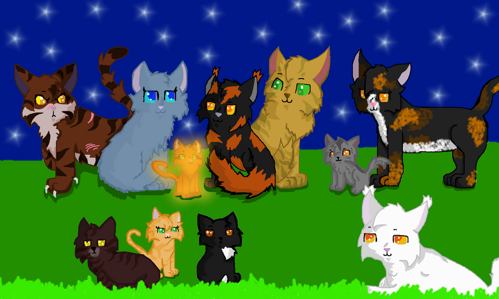 Warrior cats thunderclan camp
