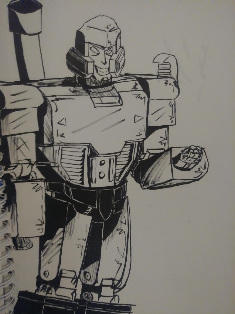 Megatron Brush by Go-Faster-Wings
