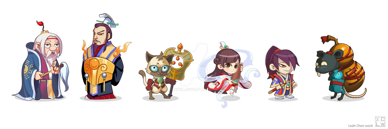 Game Design Character Artist : Game character design by cwxl on deviantart