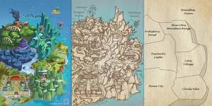 Game Level Map Design