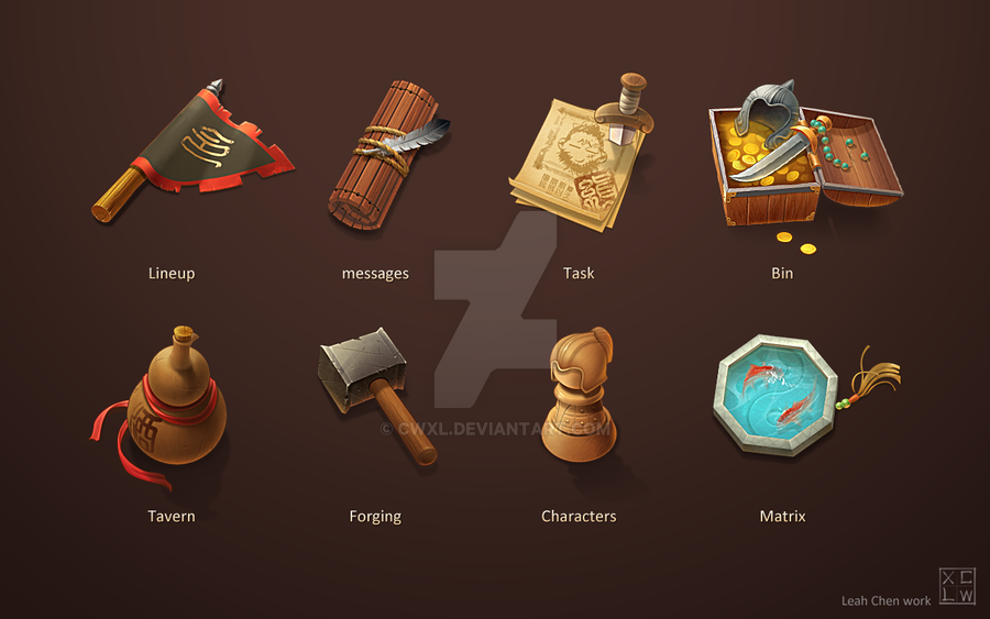 Game Icon Design by cwxl