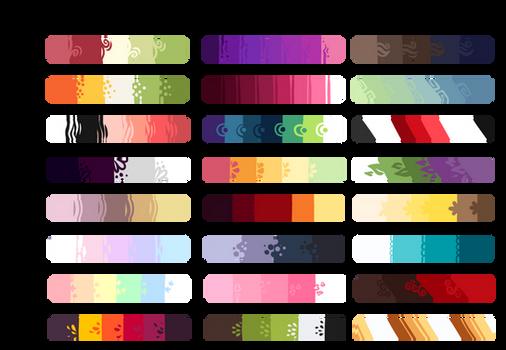 F2U Color Palettes